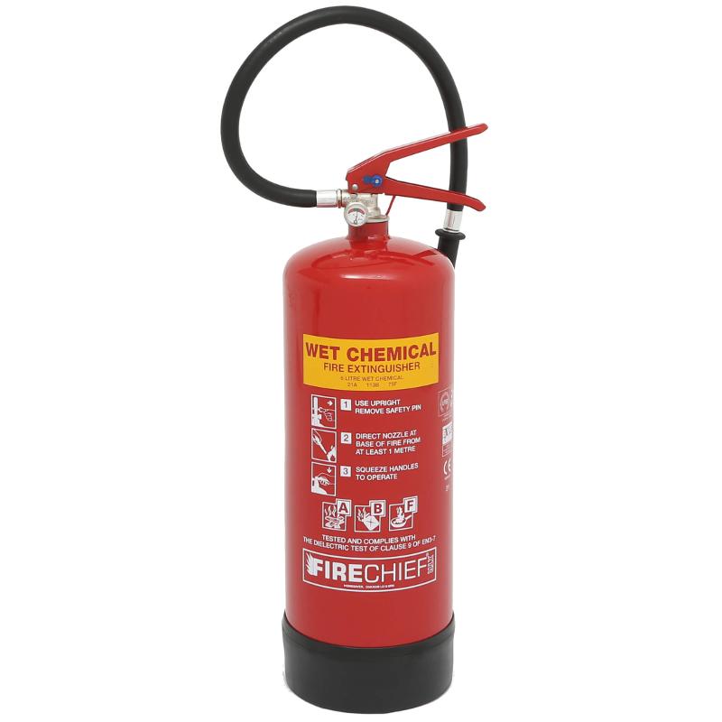 6ltr wet chemical extinguisher