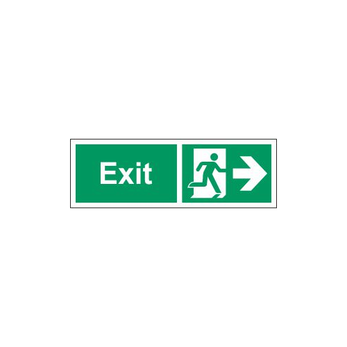 exit east sign