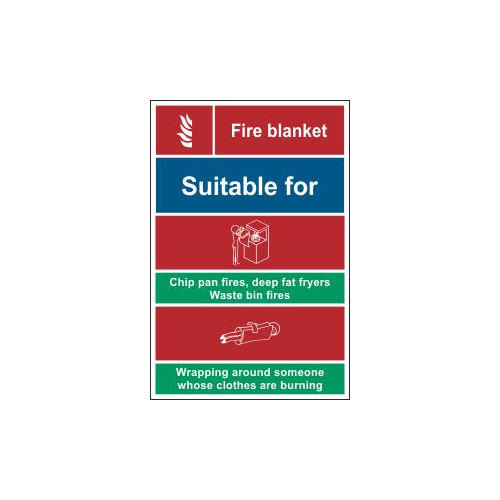 fire blanket sign