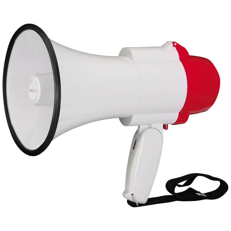 mini megaphone folding handle