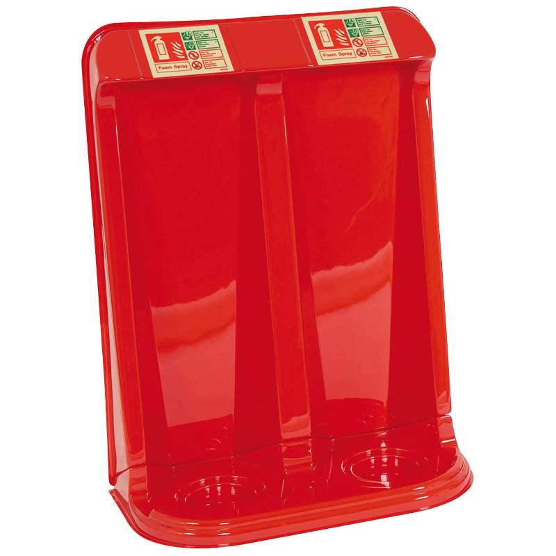 double fibreglass highback stand