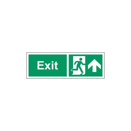 exit north sign