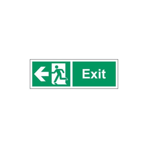 exit west sign